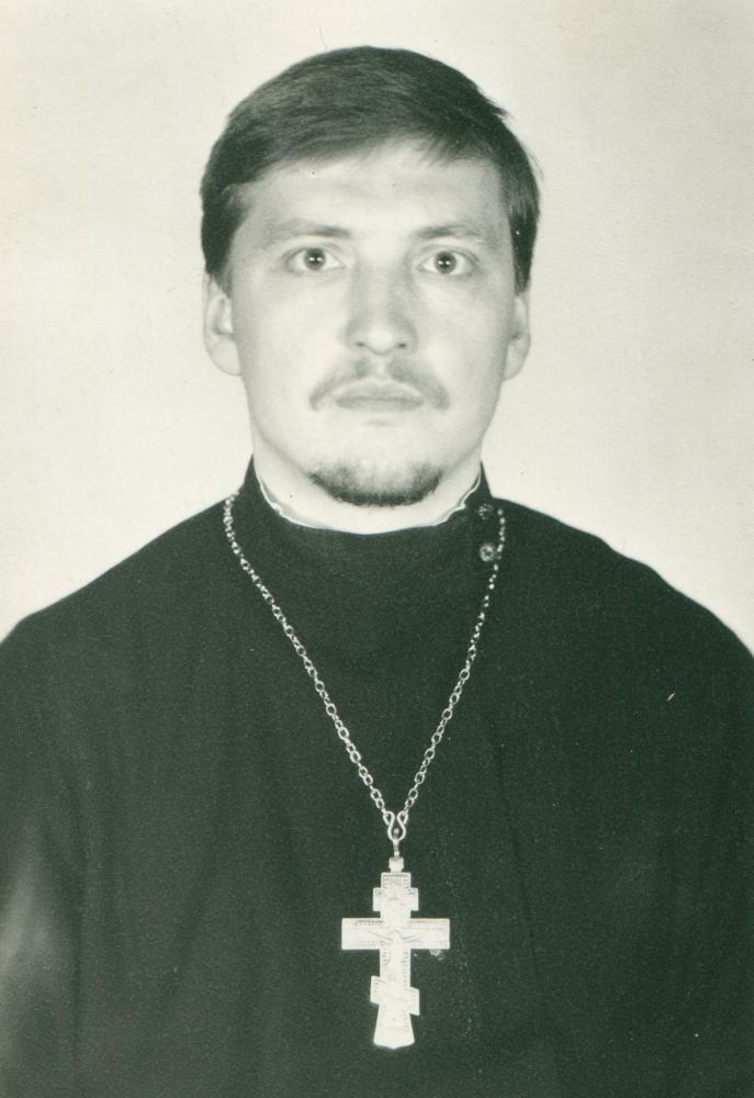 Настоятель о. Павел Борисов
